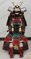 Iron And Silk Knotted Japanese Rüstung Art Samurai Armor Suit Wearable