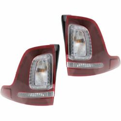 New Set of 2 Tail Lights Lamps Driver & Passenger Side LH RH Ford Explorer Pair