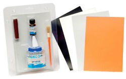 Repair kit for neoprene inflateable boats Orange #477COL702