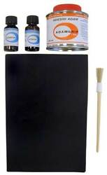 Repair kit for PVC inflatable boats White #477COL713