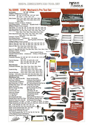 333 Piece Mechanicand039s Pro Tool Set Tande Tools 9289s