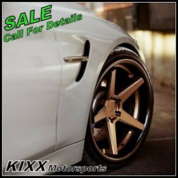 19 Ferrada Fr3 19x8.5/9.5 Bronze Concave Wheels For Bmw F32 428 435 Coupe
