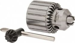 Accupro 5/8-16, 3/64 To 1/2 Capacity, Threaded Mount Drill Chuck Keyed, 46mm...