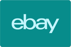 Ebay Digital Gift Card - Teal One Card So Many Options - Email Delivery