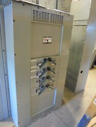 Siemens 200 Amp 1 Phase 120/240 Volt W/ 4 30 Amp Twin Switches- E2024