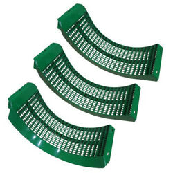Bh84286 Combine Concave Wide Spaced Set Of 3 Heat Treated Fits John Deere