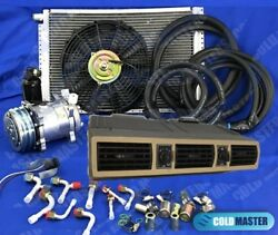 New A/c Kit Universal Under Dash Evaporator 404-bf12v W/ Electrical Harness