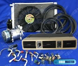 New A/c Kit Universal Under-dash Evaporator 404-f-12v  W/ Electrical Harness