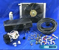 Universal Underdash Air Conditioner 202-1 12v And Electric Harness 12x16 Cond