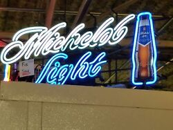 Michelob Light Neon Beer Sign, Excellent Condition. 20x48. Local Pickup Only.