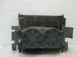 Coolant Air Conditioning Condensor Cooling Pack Shroud Electric Fan