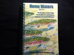 Home Waters Fly Fishing Book New W/mapsandnbsp Mid South Fly Fishers Great Gift