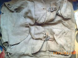 German Tornister Backpack M-1939 With German Camouflage Flaps Original