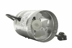 Brand New Hydroplanet Duct Booster exhaust Fan 4-inch 100 CFM