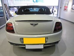 Carbon Fiber Trunk Spoiler Wing Fit Bentley Continental Supersports Convertible