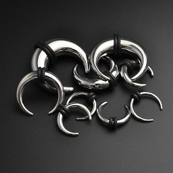 Ear Pincher Septum Stretching Kit 316l Surgical Steel Stretcher 1.6mm - 10mm