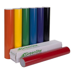 24 X 10yd Roll Greenstar Sign Vinyl For Banners Decals Windows Lettering 3mil