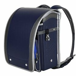 Coulomb Randoseru A4 School Backpack 2017 Model Navy 110 NB NEW from Japan FS