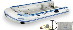 Sea Eagle 14sr Deluxe Floorboard 14andrsquo Inflatable Sport Runabout Boat Dinghy Raft