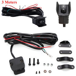 3 Meters Motorcycle Winch Rocker Switch Handlebar Control Line Warn Accessories