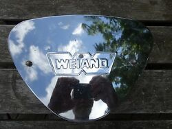 VINTAGE CHROME WEIAND ROD OR TRUCK AIR CLEANER ASSEMBLY