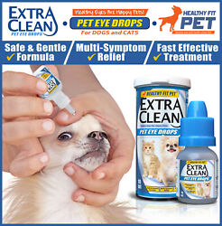 Dog Cat Infection Pink Eye Drops Red Irritation Inflammation Tears Itch Allergy