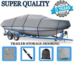 Grey Boat Cover Fits Chaparral Boats 18 Sport H2o 2012-2015 Trailerable