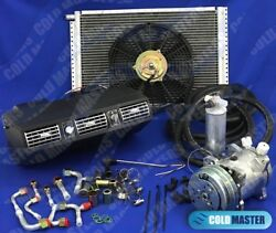 Universal Underdash Air Conditioning Kit404 Alum W/ Electrical Harness