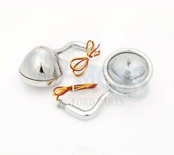 Cowl Lights 12 Volt With Turn Signal Andbull 1928-1929 Ford Model A