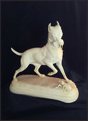 Paul Comolera Rare Bisque 1860 Rat Terrier