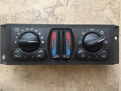 2004-2005 Chevy Impala Monte Carlo Heater AC Climate Control OEM Part #10347157