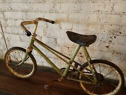 Antique Child's Bicycle From France