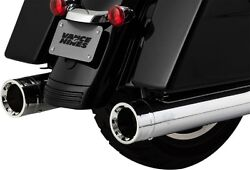 Vance And Hines 4.5 Destroyer 450 Mufflers Harley Electra Glide Road King Street