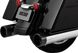 Vance And Hines 4.5 Raider Oversized 450 Mufflers Electra Glide Road King Street