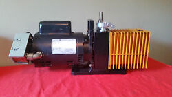Used Good Condition Alcatel 1012a Single Stage 3/4hp Vacuum Pump