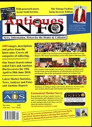 Antiques Info Magazine May/june 2010 News, Info, Prices For Dealer And Collector