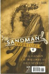 Sandman Overture 6 Special Ink 1200 Variant Edition By Dave Mckean