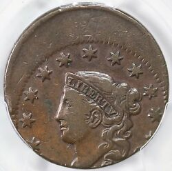 No Date Pcgs Vf 20 25 Off-center Matron Or Coronet Head Large Cent Coin 1c