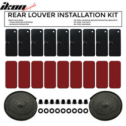 Window Louver Replacement Hardware Double Sided 3m Mounting Installation Kit