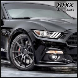 20 Rohana Rf2 20x10 20x11 Black Forged Concave Wheels For Ford Mustang Gt
