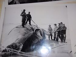 2 Antique Whaling Photograph Prints From Keystone Projection Slides 5 X 7 Inches