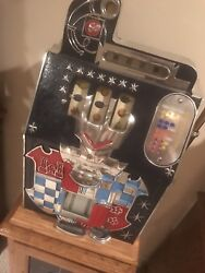 Antique 1930and039s Mills Wars Eagle 10cent And Many More Collectible Slot Machines.