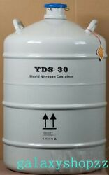 50l Cryogenic Container Liquid Nitrogen Ln2 Tank With Protective Sleeve