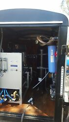 Trailer mounted reverse osmosis systems