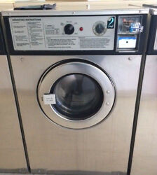 Wascomat 30lb Washer W124 Stainless Steel Refurbished New Bearings