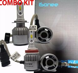 TF R6 F - Series 3800 Lms 36W Xenon Bright White LED Kit H7 and H11 Bulbs