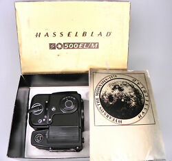 Hasselblad Black Elm 10 Years Moon Anniversary With 16 Back 1470