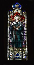 + Older Stained Glass Church Window +