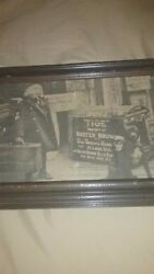 Antique Buster Brown Picture And Frame Best Offer Rare Item