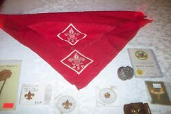 Vintage Boy Scout Items From 1970's V/good Condition No Reserve Cheap